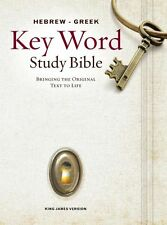 Key Word Study Bibles: Hebrew-Greek Key Word Study Bible (2008 New Edition) :...