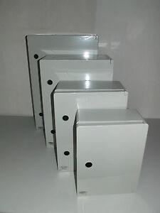 Kleinverteiler ,Feldverteiler , ABS,  Schaltkasten mit Montageplatte IP 65