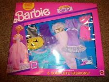 Vintage Barbie 6 Fashion Gift Set Pack Dress 782 NRFB 1990 Shoe Outfit 15 pc