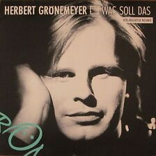 "Herbert Grönemeyer - Was Soll Das (12"" EMI Vinyl Maxi Single Germany 1988)"