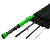 Fly Fishing Rod Winn Grip Carbon Medium Fast 5/6/7/8 WT Fly Rod 7'6'' 9' 4Pieces