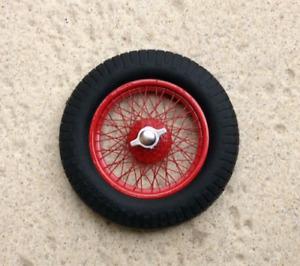 1/12th 4 hand laced wire wheels for ITALERI  ALFA ROMEO  Fiat GP, Bentley Airfix