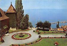 BR123 les jardin du Chateau de Sonnas et le leman Thonon Les Bains    france