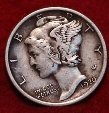1920 Philadelphia Mint Silver Mercury Dime