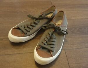 PF FLYERS MENS Canvas Trainers UK 8