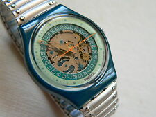 1992  Swatch Watch  Standard Steel Lite  GG403  Band is Small New