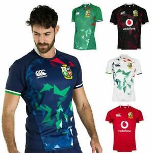 UK 2021 British  Irish Lions Rugby jersey Shirt 20-21 Men's Rugby jerseys