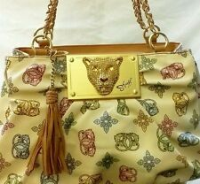 NEW Sharif Mongram Beige Handbag Purse Shoulder Bag Hand Messenger Tote Clutch