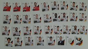 Rewe DFB Fußball EM 2020 Kompletter Satz alle 35 Normale Sammelkarten Karten