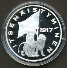 "Finland ""Silver Treasure Collection"" Coin - Becoming Independent 1917 - Proof"