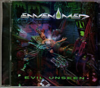 Envenomed Evil Unseen CD 2014 Australian Indi Melodic Thrash Metal