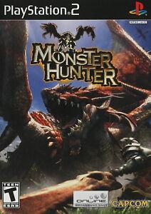 Monster Hunter [PlayStation 2 PS2 Retro Action RPG Capcom] NEW