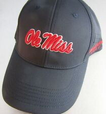 Bridgestone Golf NCAA Performance Cap Hat One Fit Fitted Mississippi Ole Miss
