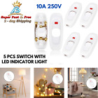 Feed Through Switch Power Control For In line Cord Small Appliances Lamp Light photo
