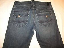 People's Liberation Mens Jeans Low Bootcut Flap Pocs Dark 29 X 28
