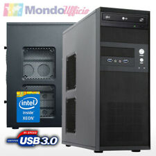 PC SERVER Intel XEON E3-1240 V6 - Ram 16 GB DDR4 - HD 2 TB - SSD 500 GB RAID1
