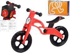 POPBIKE Children Kids Learning Balance Bike 12 EN71 & CE Certified Safety RED