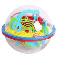 KE_ Barriers 3D Labyrinth Magic Intellect Ball Balance Child Kid Toy Intriguin