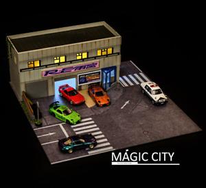 Magic City 1:64 Diorama RE Amemiya Japanese Tuner Shop