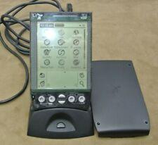 New listing Handspring Visor Palm Pilot Black - Translucent Black - Working Synch Usb Cradle