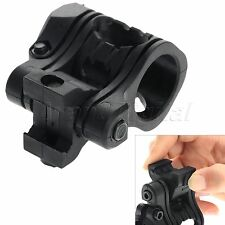 "New 1""/25.4mm 5 Position 20mm Picatinny Flashlight Torch Laser Scope Ring Mount"