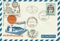 Austria 1966 Ind. Building Slogan Cancel Balloon Post Stamps FDC Cover Ref 28089