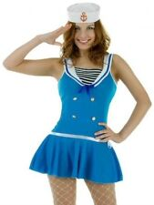 Sexy First Mate Sailor Womens Hen Fancy Dress Costume Size 8-10 P5901