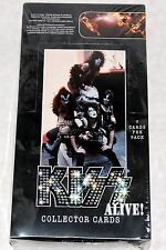 Sealed KISS Alive Collector Cards Full Box 2001 NECA Gene Simmons Ace Frehley