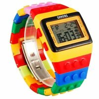 Watch bracelet, Lego Shhors, Large quality, Watches multifunction, Wristwatch