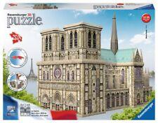 Ravensburger 12523 Notre Dame 324pc 3d Jigsaw Puzzle