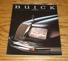 Original 1989 Buick Full Line Deluxe Sales Brochure 89 Park Avenue LeSabre