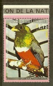 Equatorial Guinea - 1974 - South American & Australian bird - Trogon Collaris