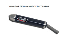 GIANNELLI SILENZIATORE CARBONIO ENDURO/CROSS 2T VERSIONE ALTA XP6 50 PEUGEOT 200