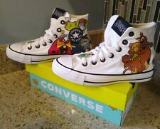 Converse x Scooby Doo CTAS HI Top Sneakers NEW 169076F Unisex Men's 4 Womens 6