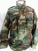 Vintage M-65 M65 Cold Weather Field Jacket Camouflage 1989 Medium Long Golden