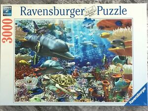 """NEW SEALED 2004 Ravensburger Puzzle 3000 Pieces """"Oceanic Wonders"""" No. 17 027 2"""