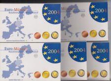 Deutschland   KMS  2004  A D F G J  kplt.  Polierte Platte
