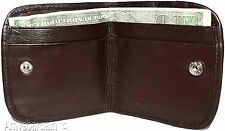 New women's Small Soft Leather Wallet,  2 Billfold Change purse coin wallet BNWT