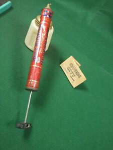 Vintage Hudson garden sprayer/spray duster 1950s 60s metal and brass body