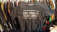 FoMoCo Ford Motor Company 2XL T shirt  Built Stronger to Last Longer Gray