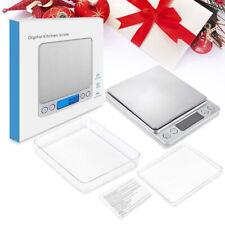 3652 Pocket Digital Jewelry Scale Weight 500gx0.1g 200gx0.01g LCD Gram Portable