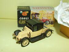 RENAULT 1910 Jaune Crème CORGI CLASSIC 1:43 Boite carton