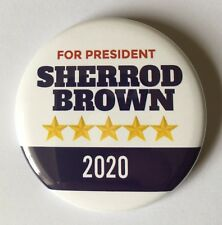 Sherrod Brown 2020 Presidential Hopeful Campaign Button (BROWN-702)