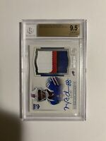 Marquise Goodwin BGS 9.5 10 2013 Panini RPA /99 National Treasures Bills Gem