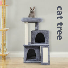New listing 34�H Luxury 3-Tier Kitten Cat Tree with 2 Condos Top Perch Scratching Posts