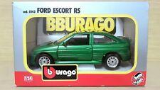 Ford Escort RS (1992) scala 1/24 Bburago Burago Made in Italy cod. 0143