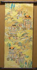Top quality Tapestry Wall Hanging Nishijin-ori Kyoto Gion Festival Kimono Fabric
