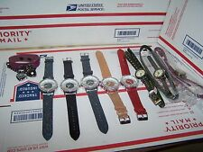 LOT OF 9  WRIST WATCHES ALL NEW CHECK VARIETY IN PICTURES