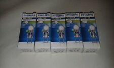 5 x Philips Master 60W GY6.35 12V Clear Halogen Capsule Light Bulb Lamp Job Lot
