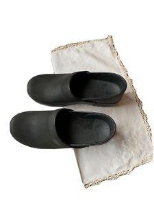 Dansko clogs size UK 38 US 7.5 new Black